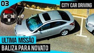 getlinkyoutube.com-City Car Driving - Exame Final para Estudante + Logitech G27