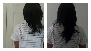 getlinkyoutube.com-3 inches HAIR GROWTH 2 months CRAZYYYYY!!!!
