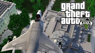 "getlinkyoutube.com-Minecraft GTA V   Grand Theft Auto 5 Mod Ep 3! ""EPIC COP CHASE"" (GTA 5)"