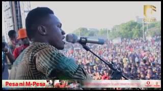 MOBOSSO DAY: Mbosso awaimbia wote wanaotegemea kupata mtoto