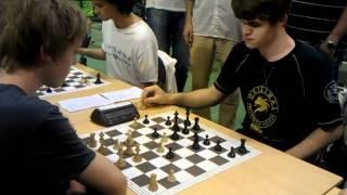 getlinkyoutube.com-Magnus Carlsen playing 1 min vs 9 min