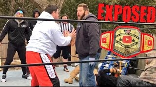 GTS WRESTLING CHAMPIONSHIP CLUSTERF@CK MATCH GONE WRONG!