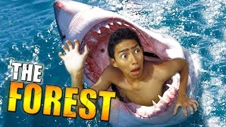 getlinkyoutube.com-ALIMENTO PARA TIBURONES !! - The Forest