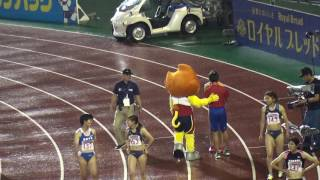 getlinkyoutube.com-2016日本選手権女子100m決勝 福島千里11.45(-0.2) Chisato FUKUSHIMA 1st Natl.champ-final