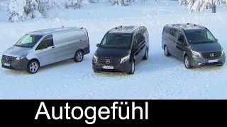 getlinkyoutube.com-2016 Mercedes Vito Metris 4x4 119 BlueTEC Panel Van, Mixto, & Tourer Pro - exterior interior