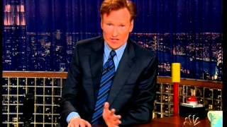 getlinkyoutube.com-Walker, Texas Ranger Lever - Late Night with Conan O' Brien - Episode 1