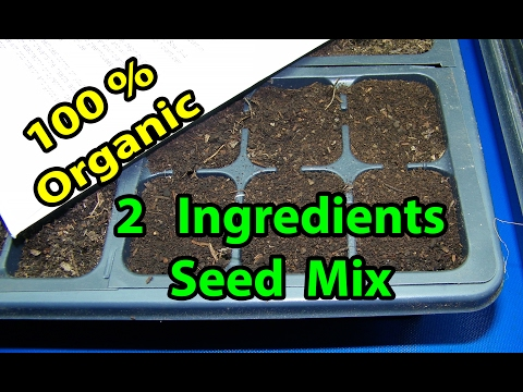 How to Make - Grind Composting Leaves Seed Starting Mix, Back to Eden Garden Method in wood Chips
