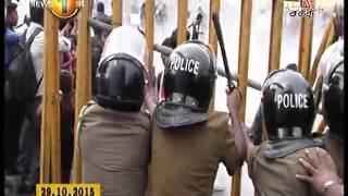 Prime Time Shakathi Tv Sunrise News 18th November 2015 clip 02