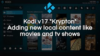 getlinkyoutube.com-Add local/remote content to your library in Kodi v17