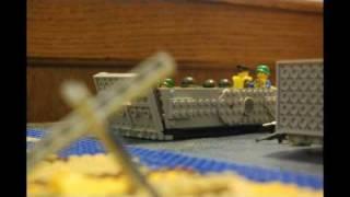 getlinkyoutube.com-Lego Omaha Beach Part 1