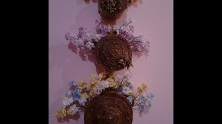 getlinkyoutube.com-Best Out Of Waste Paper 3 tier Wall Hanging flower basket