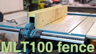 getlinkyoutube.com-Improving Makita table saw - rock solid fence.
