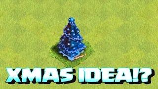 getlinkyoutube.com-Clash Of Clans - XMAS TREE SPECULATION!!! (Xmas raids)