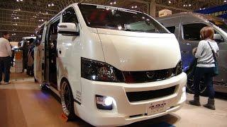 getlinkyoutube.com-(HD)NISSAN CARAVAN NV350 modified 日産キャラバンNV350カスタム - 東京オートサロン2016