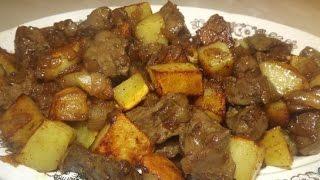 getlinkyoutube.com-Говурма из печени  Азербайджанская кухня