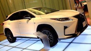 getlinkyoutube.com-レクサス 新型 RX 200t F SPORT 2016 Lexus New RX (prototype)