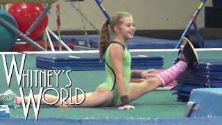getlinkyoutube.com-Gymnastics in a Leg Cast | Castnastics | Whitney