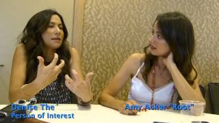 "getlinkyoutube.com-SDCC 2015: Person of Interest: Denise The´ & Amy Acker ""Root"""