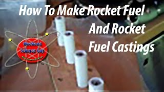getlinkyoutube.com-How to make potassium nitrate and sugar rocket fuel and a pvc rocket engine