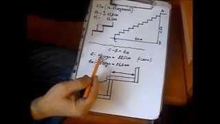 getlinkyoutube.com-Как изготовить лестницу видео.