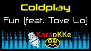 getlinkyoutube.com-Coldplay - Fun feat. Tove Lo (Karaoke, Lyrics)