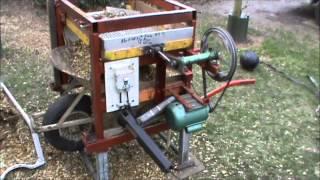 getlinkyoutube.com-Eigenbouw schudzeef. / Eigene Konstruction Rüttelsieb  / Homemade Dirt Sifter