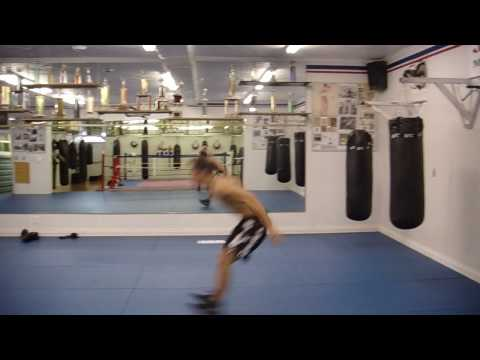 High Intensity Interval Training (HIIT) MMA Bodyweight Circuit