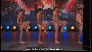 getlinkyoutube.com-Boys Get Nude On Sweden's Got Talent To Perform The Crisp Bread Dance