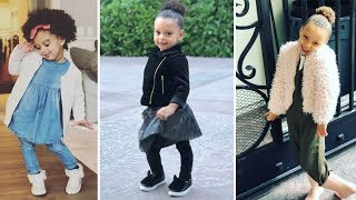 Stephen Curry & Ayesha Curry's Kids - 2018 {Riley Curry | Ryan Curry}