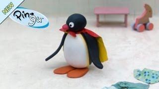 getlinkyoutube.com-Pingu plays Superman - Pingu Official Channel