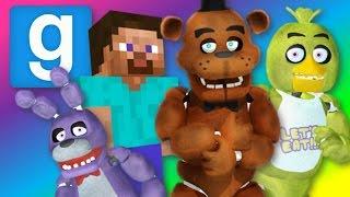 getlinkyoutube.com-Gmod   MINECRAFT vs FIVE NIGHTS AT FREDDY'S (Garry's Mod Sandbox Funny Moments)