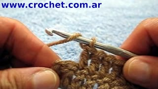 getlinkyoutube.com-Como aumentar al final de un tejido crochet tutorial paso a paso.