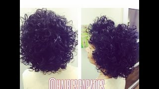 getlinkyoutube.com-Heat Free Flexi Rod on Natural Hair at Hair Escapades
