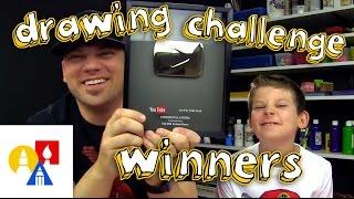 getlinkyoutube.com-Drawing Challenge Winners + SYA (8/3/15)