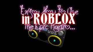 getlinkyoutube.com-Enjoy how to use the epic radio! (roblox mad murderer)