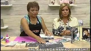 getlinkyoutube.com-Porta Retrato em Scrapdecor com Mamiko Yamashita - Vitrine do Artesanato na TV