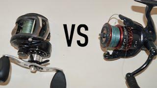 getlinkyoutube.com-Fishing Reels: Spinning VS Baitcasting
