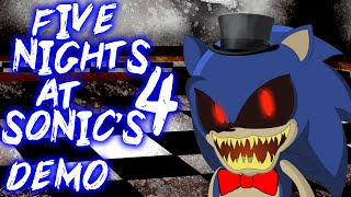 getlinkyoutube.com-FIVE NIGHTS AT SONIC'S 4 DEMO - NIGHTMARE SONIC IS 2FAST4ME!