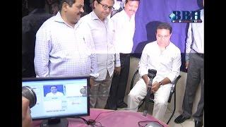 KTR Visits Khairatabad RTA Office To Renewal International Driving Licenc |BBH|