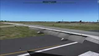 getlinkyoutube.com-Air France B777-200LR Takeoff - Realistic X-Plane 10