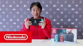 getlinkyoutube.com-Nintendo Switch - Unboxing with Mr Shibata