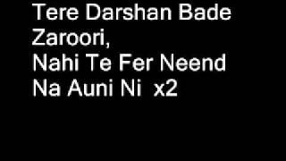 Tere Darshan Bade Jaroori Full Song (Lyrics)