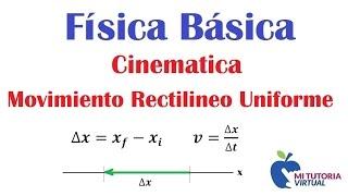 getlinkyoutube.com-Cinemática  Movimiento Rectilíneo Uniforme Ejercicio No 1 - Kinematics