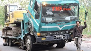 Fuso Self Loader Truck Heavy Transport Recovery