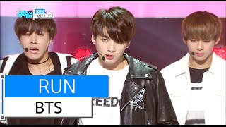 [HOT] BTS - RUN, 방탄소년단 - 런, Show Music core 20160102