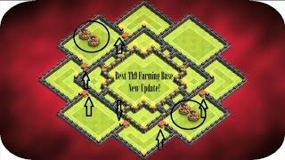 getlinkyoutube.com-BEST TH9 DARK ELIXIR Farming Base + REPLAYS - Clash of Clans