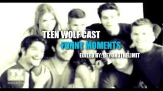 getlinkyoutube.com-TEEN WOLF CAST | FUNNY MOMENTS