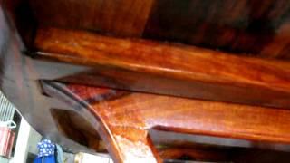 getlinkyoutube.com-โต๊ะไม้พยุงเกรดเอ ไม้ตีนกาชิ้นเดียวไม่มีการต่อ เน้นแก่นไม่