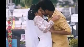 Rajisha Vijayan liplock and boob press