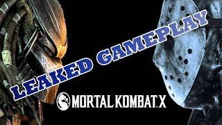 getlinkyoutube.com-Mortal Kombat X Predator Gameplay Leak